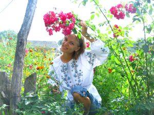 Вся у квітах