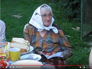 Анна Бойко читає свої вірші
