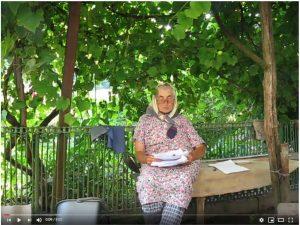Анна Бойко читає свої спогади. Про яйця і про криївку