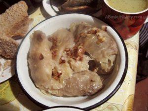 Бабусині рецепти: голубці з тертої картоплі