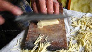 Домашня лапша за рецептом бабці Гані