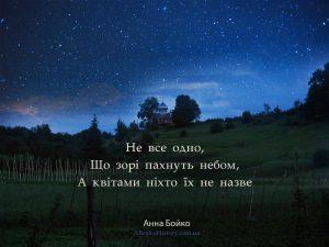 Вірші Анни Бойко